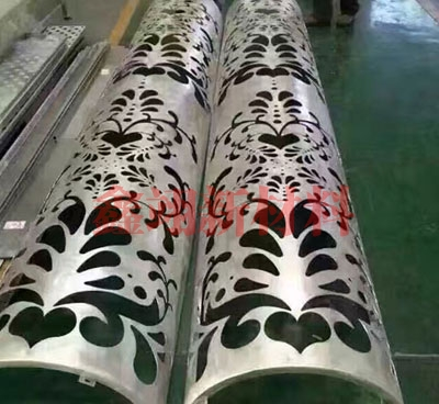 镂空包柱铝单板