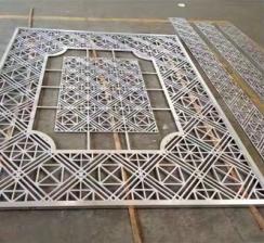 复古造型铝窗花